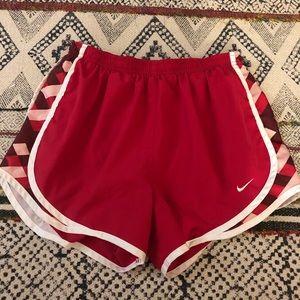 Pink Nike Workout Shorts Size Medium